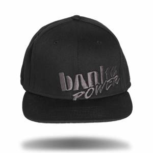 Banks Power - Power Hat Premium Fitted Black/Gray Flat Bill Flexible Fit Banks Power - Image 2