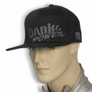 Banks Power - Power Hat Premium Fitted Black/Gray Flat Bill Flexible Fit Banks Power - Image 4