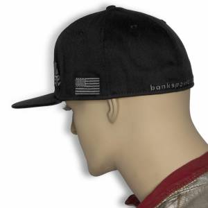 Banks Power - Power Hat Premium Fitted Black/Gray Flat Bill Flexible Fit Banks Power - Image 5