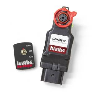 Performance - Chips & Tuners - Banks Power - Derringer Tuner w/Switch with ActiveSafety includes Switch for 14-18 Ram 1500 3.0L EcoDiesel Banks Power