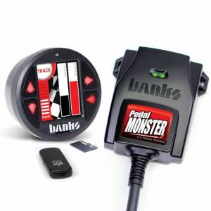 GM - Cadillac ATS/ATS-V - Banks Power - PedalMonster Kit Aptiv GT 150 6 Way With iDash 1.8 DataMonster Banks Power