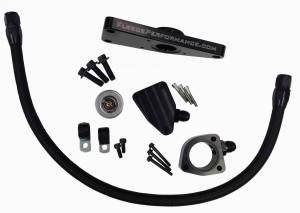 Engine Cooling - Cooling Parts - Fleece Performance - Cummins Coolant Bypass Kit 2003-2007 Manual Transmission Fleece Performance