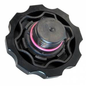 Performance - Oil System & Parts - Fleece Performance - Cummins Billet Oil Cap Cover Red Fleece Performance