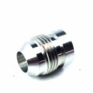 Products - Miscellaneous - Fleece Performance - -8AN Aluminum Male Weld Bung 1/2 inch Register 3/4 inch OD Fleece Performance