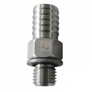 Fuel System - Fuel System Parts - Fleece Performance - 1/2 Inch CP3 Feed Fitting Fleece Performance