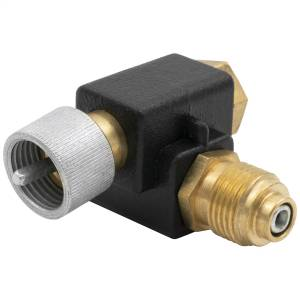 "Electrical - Switches & Panels - AutoMeter - AutoMeter 90 Degree ADAPTER FOR SPEEDOMETER CABLE, 5/8"" -18THREAD 990414"