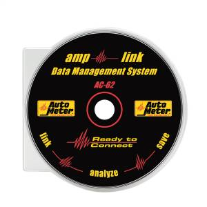 Accessories - Tools & Shop Equipment - AutoMeter - AutoMeter AMP-LINK DATA DOWNLOAD SOFTWARE AC-62