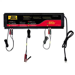 Accessories - Tools & Shop Equipment - AutoMeter - AutoMeter 3 STATION CHARGER, 10 AMPS/STATION, 120V, AGM BUSPRO-361