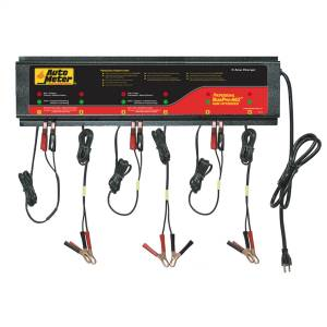 Accessories - Tools & Shop Equipment - AutoMeter - AutoMeter 6 STATION CHARGER, 5 AMP /STATION, 230V, AGM,ROHS BUSPRO-662
