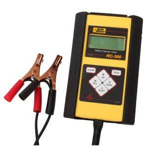 Accessories - Tools & Shop Equipment - AutoMeter - AutoMeter 4-50AH BATTERY CAPACITY TESTER, HANDHELD RC-300