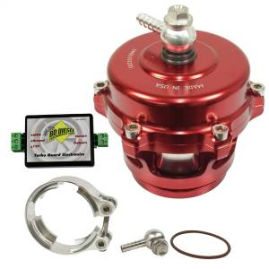 Turbos & Accessories - Turbo Parts & Accessories - BD Diesel - BD Diesel Turbo Guard Kit - Aluminum Adapter / Red Valve 1047250AR