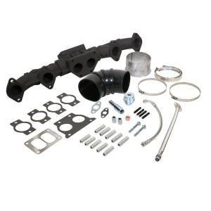 Exhaust Components - Headers & Manifolds - BD Diesel - BD Diesel BD ISX Manifold and Install Kit Package (USA) 1048015US