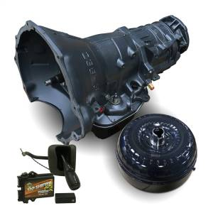 Transmissions & Parts - Automatic Transmission Assembly - BD Diesel - BD Diesel BD Dodge 48RE Trans & Converter Stage 4 Package - 2003-2004 4wd c/w TapShifter 1064194SST