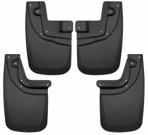 Exterior - Mud Flaps - Husky Liners - Husky Liners Front and Rear Mud Guard Set 56936