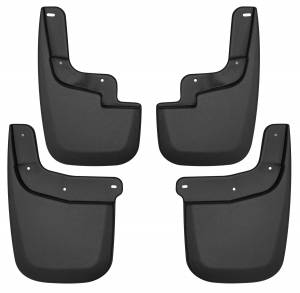 Exterior - Mud Flaps - Husky Liners - Husky Liners Front and Rear Mud Guard Set 58236