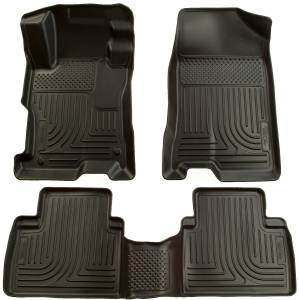 Honda/Acura - 12-15 Civic (9th Gen) / 13-15 ILX - Husky Liners - Husky Liners Front & 2nd Seat Floor Liners 98441