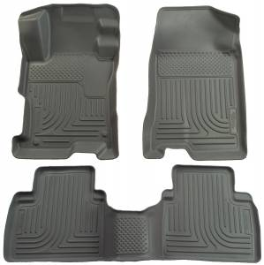 Honda/Acura - 12-15 Civic (9th Gen) / 13-15 ILX - Husky Liners - Husky Liners Front & 2nd Seat Floor Liners 98442