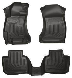 Subaru - Outback/Legacy - Husky Liners - Husky Liners Front & 2nd Seat Floor Liners 98841
