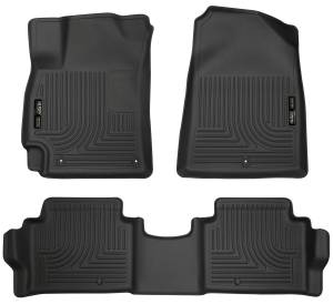 Hyundai - 15-20 Elantra (AD) - Husky Liners - Husky Liners Front & 2nd Seat Floor Liners 98871