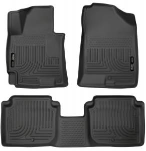 Hyundai - 15-20 Elantra (AD) - Husky Liners - Husky Liners Front & 2nd Seat Floor Liners 98941