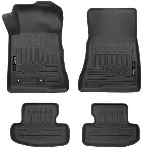 Ford - 16-20 Mustang S550 GT350 - Husky Liners - Husky Liners Front & 2nd Seat Floor Liners 99371