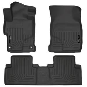 Honda/Acura - 12-15 Civic (9th Gen) / 13-15 ILX - Husky Liners - Husky Liners Front & 2nd Seat Floor Liners 99441