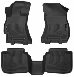 Subaru - Outback/Legacy - Husky Liners - Husky Liners Front & 2nd Seat Floor Liners 99671