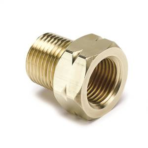 "Accessories - Misc. Hardware - AutoMeter - AutoMeter FITTING, ADAPTER, 3/8"" NPT MALE, BRASS, FOR AUTO GAGE MECH. TEMP. 2370"