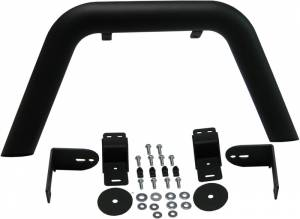 MBRP Exhaust LineX Coated Jeep Front Light Bar/Grill Guard System.  130716LX