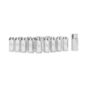 Wheels & Tires - Wheel & Tire Accessories - Mishimoto - Mishimoto Mishimoto Aluminum Locking Lug Nuts, M12 x 1.25, Silver MMLG-125-LOCKSL