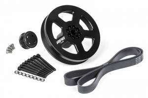 APR - APR 3.0 TFSI Supercharger Drive and Crank Pulley with Belt (Bolt on)