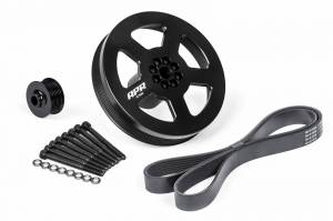 APR - APR 3.0 TFSI Supercharger Drive and Crank Pulley with Belt (Press on)
