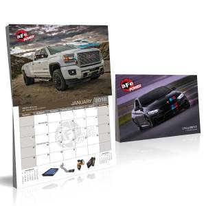 Accessories - Misc. Accessories - aFe Power - aFe Power aFe POWER 2018 Corporate Calendar 40-10184