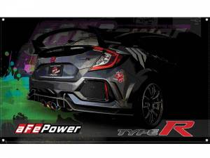 Accessories - Misc. Accessories - aFe Power - aFe Power aFe POWER Display Banner Civic Type R 40-10211