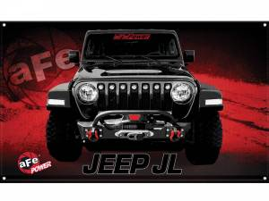 Accessories - Misc. Accessories - aFe Power - aFe Power aFe POWER Display Banner Jeep JL 40-10213