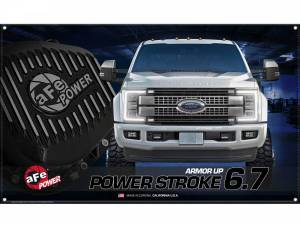 Accessories - Misc. Accessories - aFe Power - aFe Power aFe POWER Display Banner Power Stroke 6.7L 40-10215
