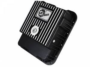 Transmissions & Parts - Automatic Transmission Parts - aFe Power - aFe Power aFe POWER Pro Series Transmission Pan Black w/ Machined Fins 46-70242