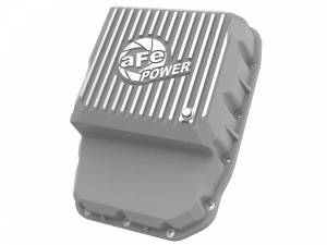 Transmissions & Parts - Automatic Transmission Parts - aFe Power - aFe Power aFe POWER Street Series Transmission Pan Raw w/ Machined Fins 46-71160A