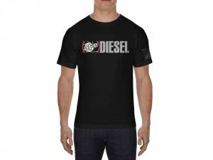 Apparel & Accessories - Shirts - aFe Power - aFe Power Diesel Graphic Mens T-Shirt Black (L) 40-30222