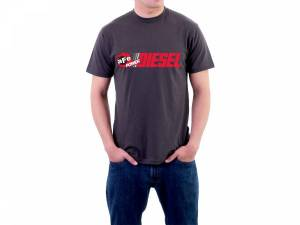 Apparel & Accessories - Shirts - aFe Power - aFe Power Diesel Graphic Mens T-Shirt Gray (3XL) 40-30225-G
