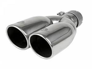 aFe Power MACH Force-Xp 304 Stainless Steel Clamp-on Exhaust Tip Polished 49T25374-P12