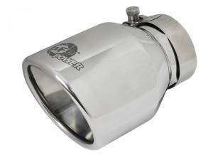 aFe Power MACH Force-Xp 304 Stainless Steel Clamp-on Exhaust Tip Polished 49T25404-P06