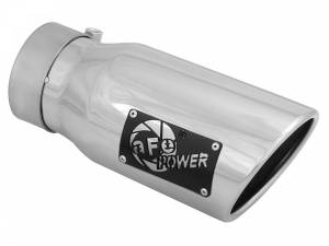 aFe Power MACH Force-Xp 304 Stainless Steel Clamp-on Exhaust Tip Polished 49T30401-P09