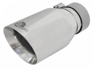aFe Power MACH Force-Xp 304 Stainless Steel Clamp-on Exhaust Tip Polished 49T30454-P092