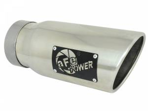 aFe Power MACH Force-Xp 304 Stainless Steel Clamp-on Exhaust Tip Polished 49T40501-P12