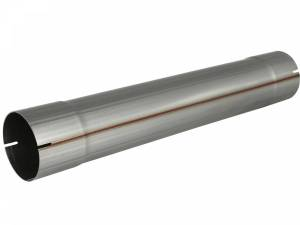 Exhaust Components - Mufflers - aFe Power - aFe Power MACH Force-Xp 4 IN 409 Stainless Steel Muffler Delete Pipe 49-91004