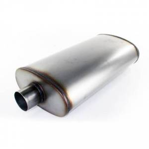Exhaust Components - Mufflers - aFe Power - aFe Power MACH Force-Xp 409 Stainless Steel Muffler 49-91010