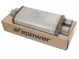 Exhaust Components - Mufflers - aFe Power - aFe Power MACH Force-Xp 409 Stainless Steel Muffler 49M00009