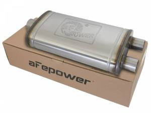 Exhaust Components - Mufflers - aFe Power - aFe Power MACH Force-Xp 409 Stainless Steel Muffler 49M00014