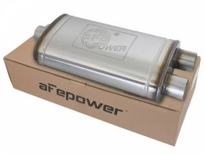 Exhaust Components - Mufflers - aFe Power - aFe Power MACH Force-Xp 409 Stainless Steel Muffler 49M00015